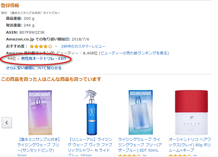 Amazon 登録情報