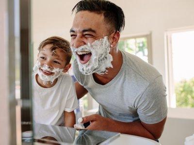 髭剃り 逆剃り