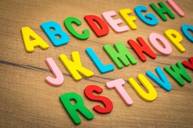 アルファベット ボード
